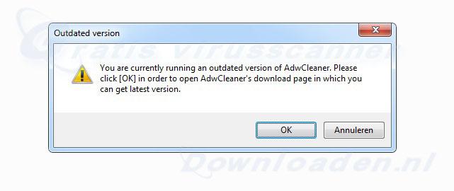 AdwCleaner Updaten