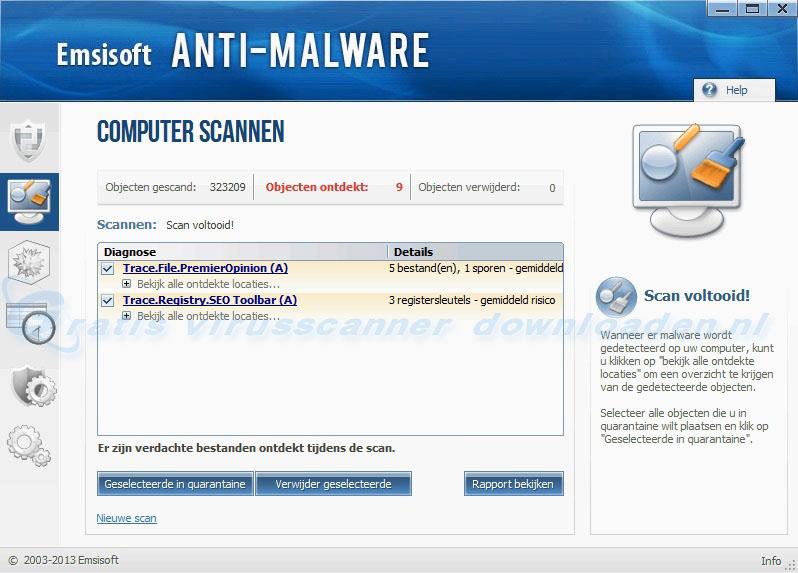 Emsisoft Anti-Malware (EAM) - Scan