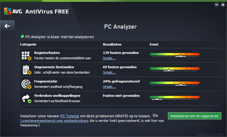 AVG PC Analyzer