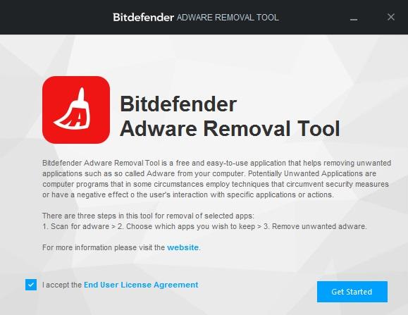 Bitdefender-Adware-Removal-Tool Get Started