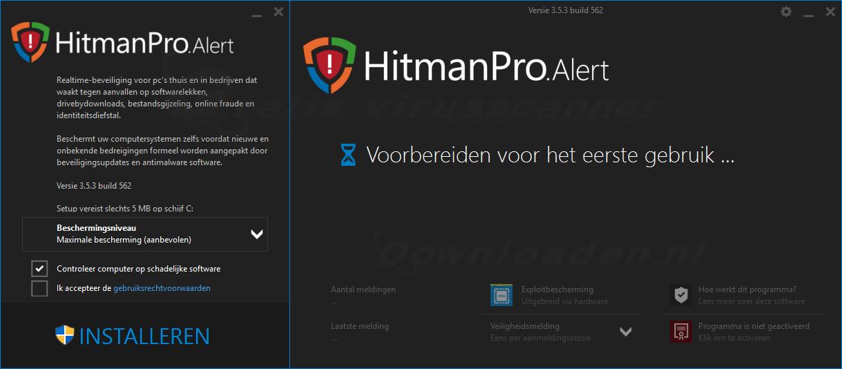 HitmanPro.Alert Installeren