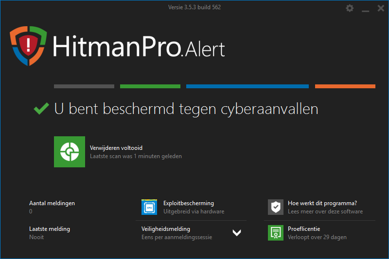 Hitmanpro.Alert bescherming