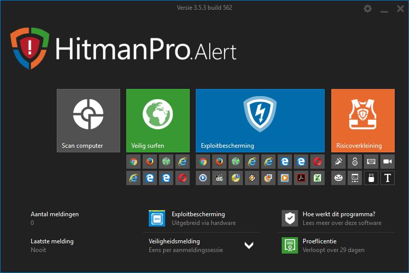 HitmanPro.Alert Uitgebreide bescherming