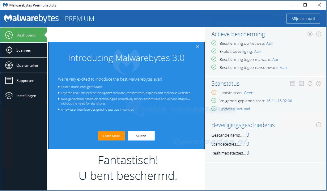 427202bc7b9 Malwarebytes 3.0 wordt volwaardige antivirus-software [Review]