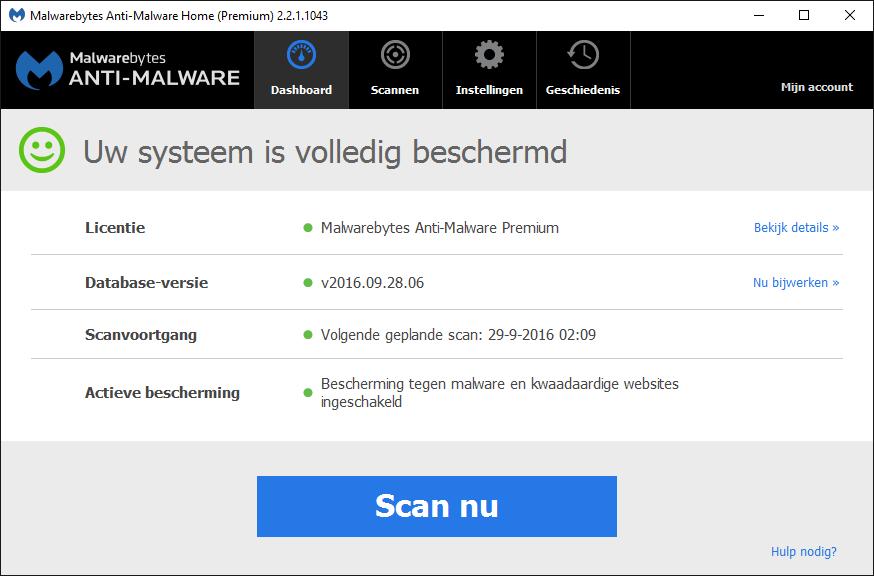 Malwarebytes Anti-Malware Home