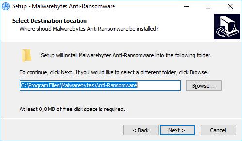 Malwarebytes Anti-Ransomware installeren