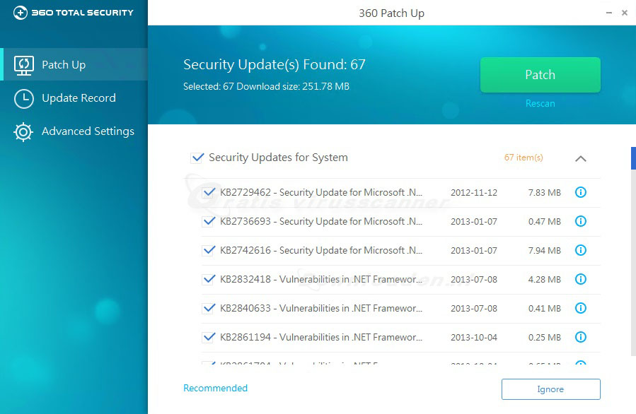 Qihoo-360-Total-Security-Patch-Up
