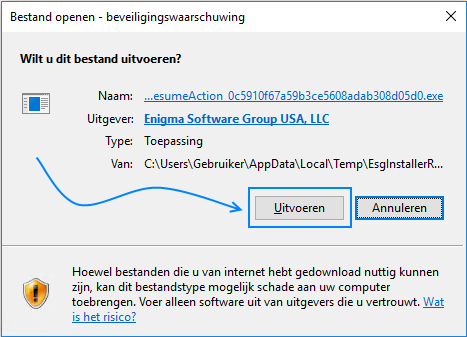 SpyHunter beveiligingswaarschuwing Windows