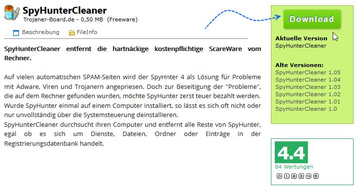 SpyHunterCleaner Downloaden