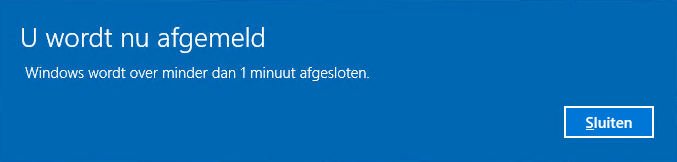 Windows herstarten