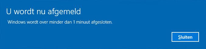 Windows herstarten