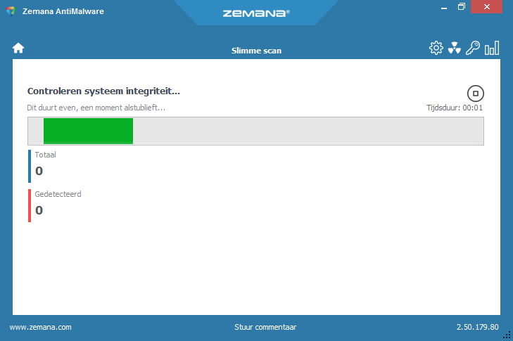 Zemana AntiMalware portable scan
