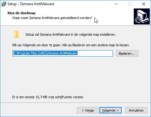 Zemana AntiMalware installeren