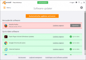avast! Free Antivirus Software-updater