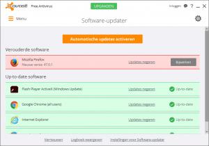 avast! Free Antivirus Software-updater